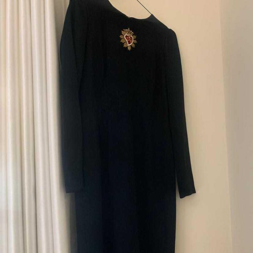 Dolce & Gabbana Black Shift Dress