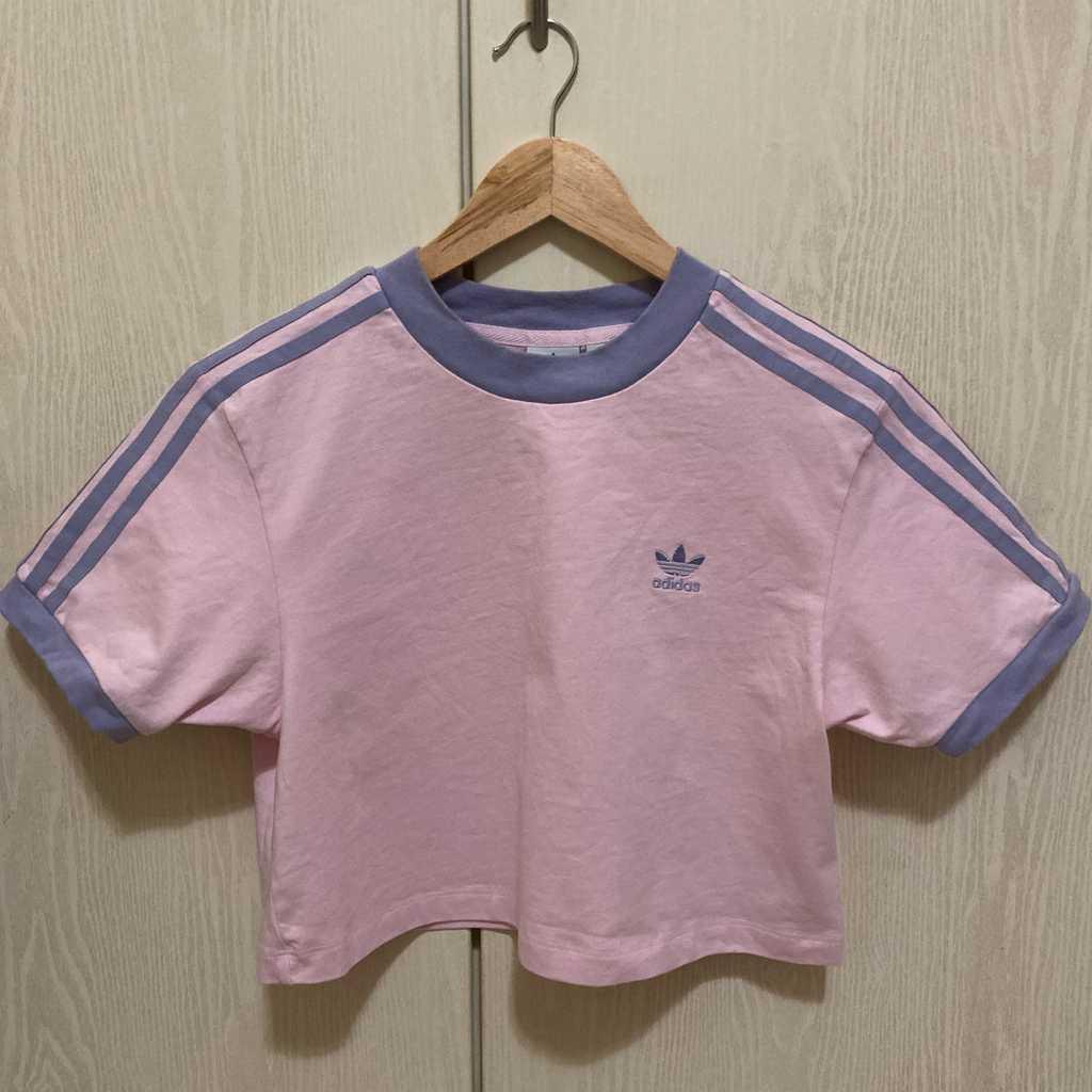 Adidas cropped length tshirt , 100% Cotton