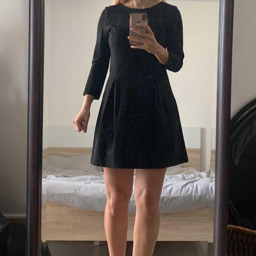 Black Comptoir des Cotonniers dress flared