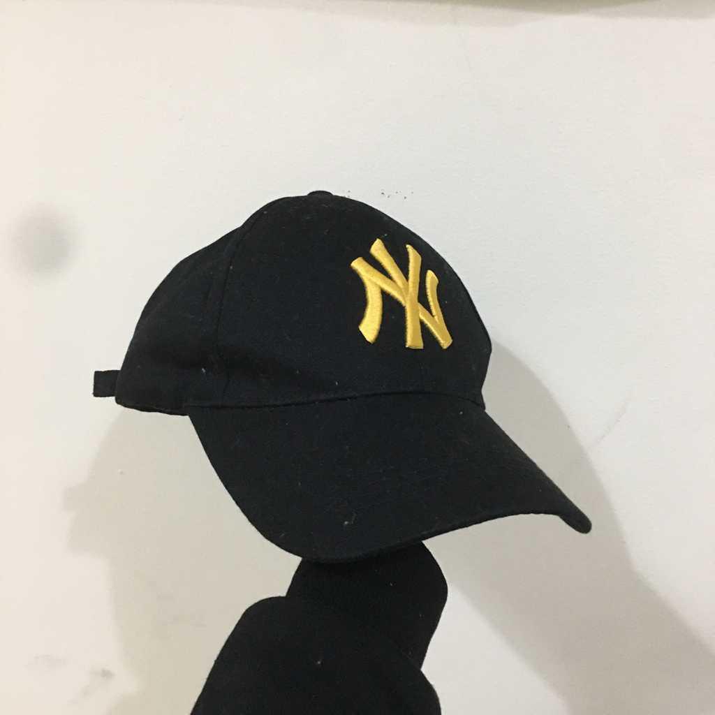 New Era Black + Yellow Cap