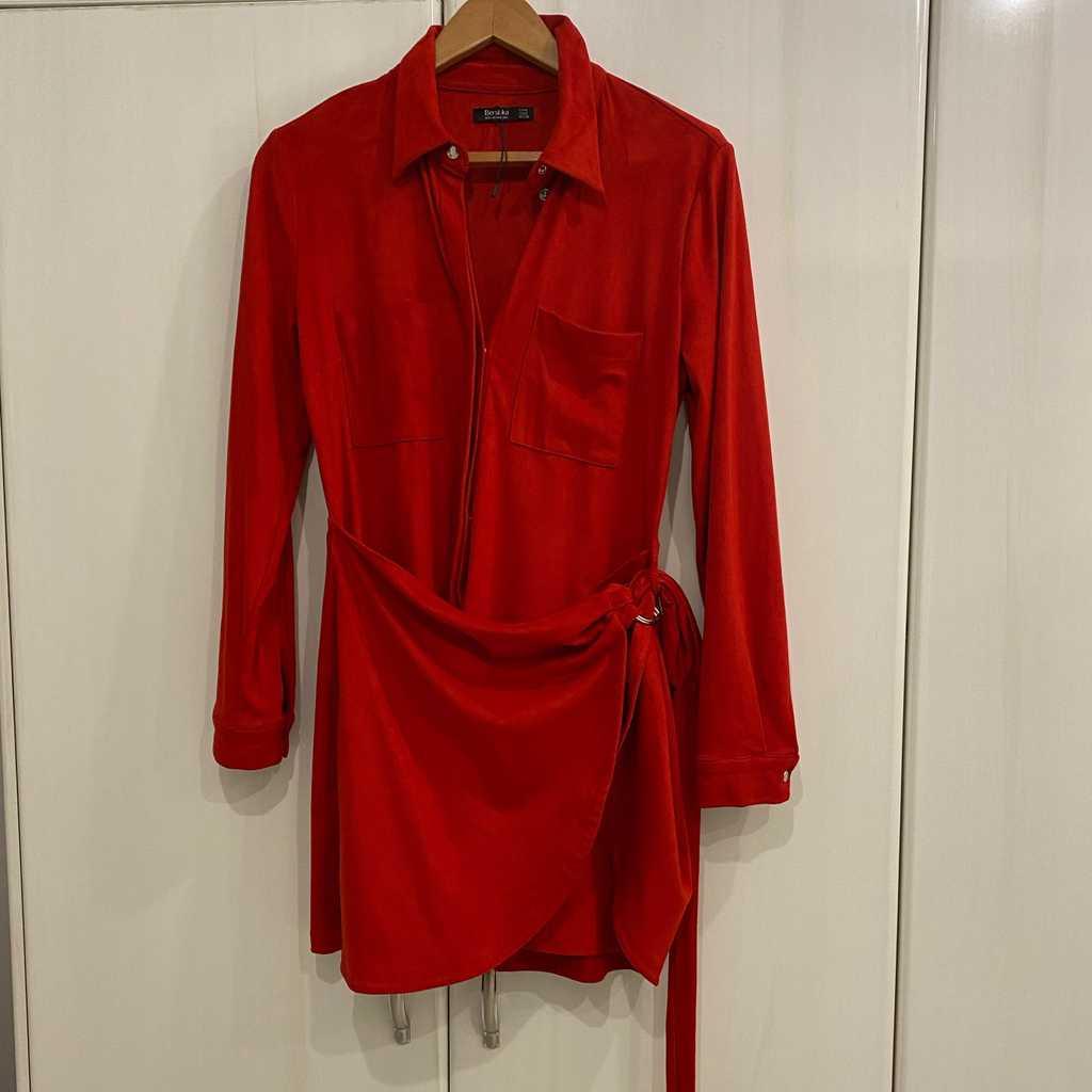 Velvet Bershka dress