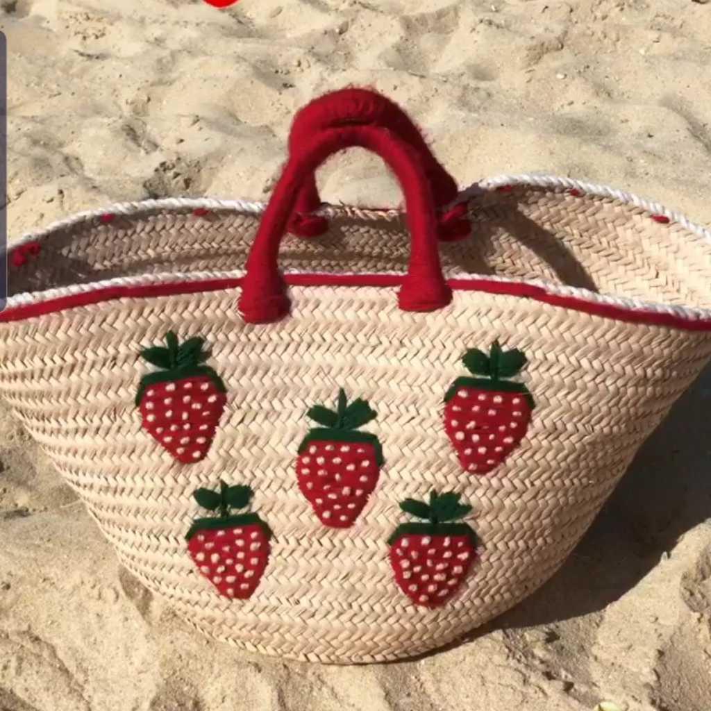 Strawberry Beach Bag
