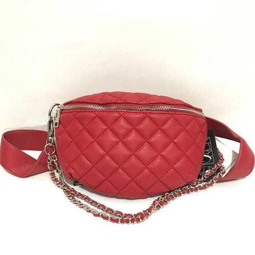 Steve Madden red belt bag & crossbody